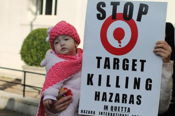 Kid Protester with her mother