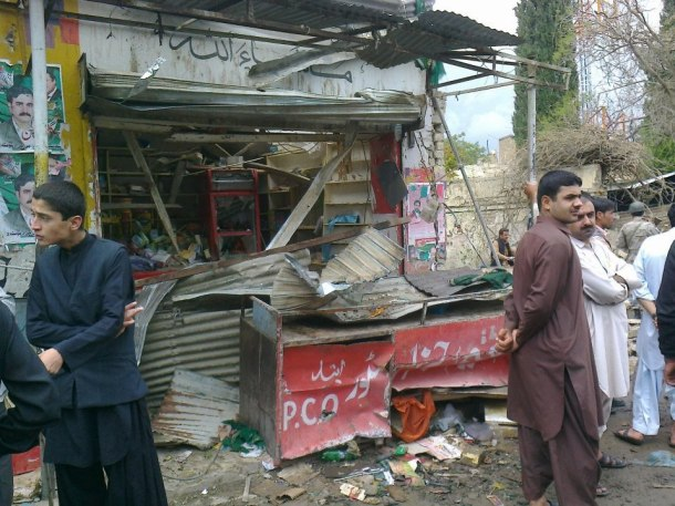 File Picture (Scene from Galzai Road Suicide Attack)