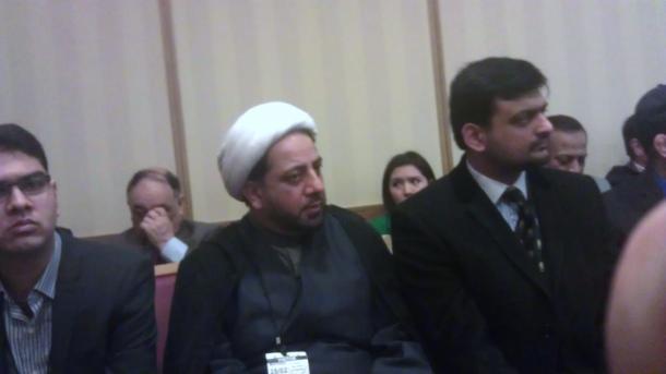 L-R: Maulana Najam and Musa
