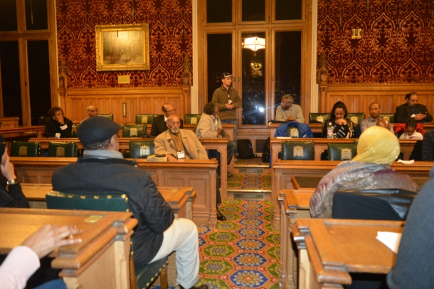 LAH Delivering a Speech in the House of Lords