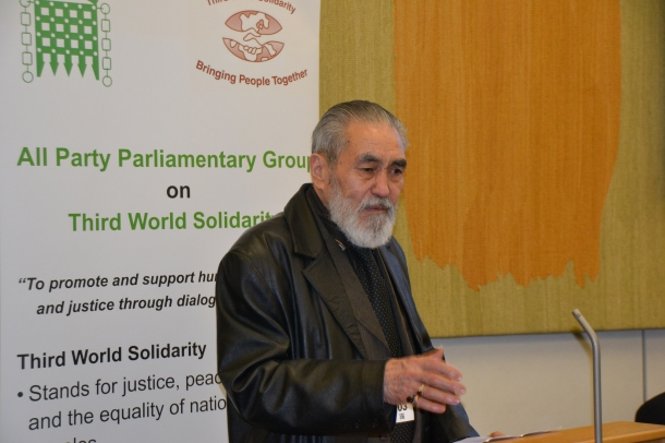 Haji Agha Marzooq Ali (Chairman - Shakir Youth Trust and Hazara International Forum of Great Britain)