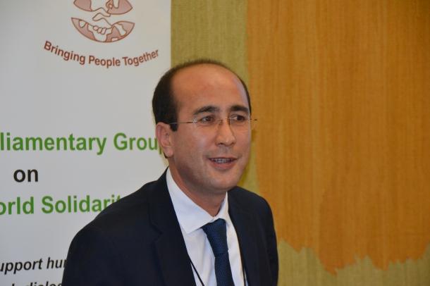 Liaquat Ameri (Political Counselour - Afghan Embassy)