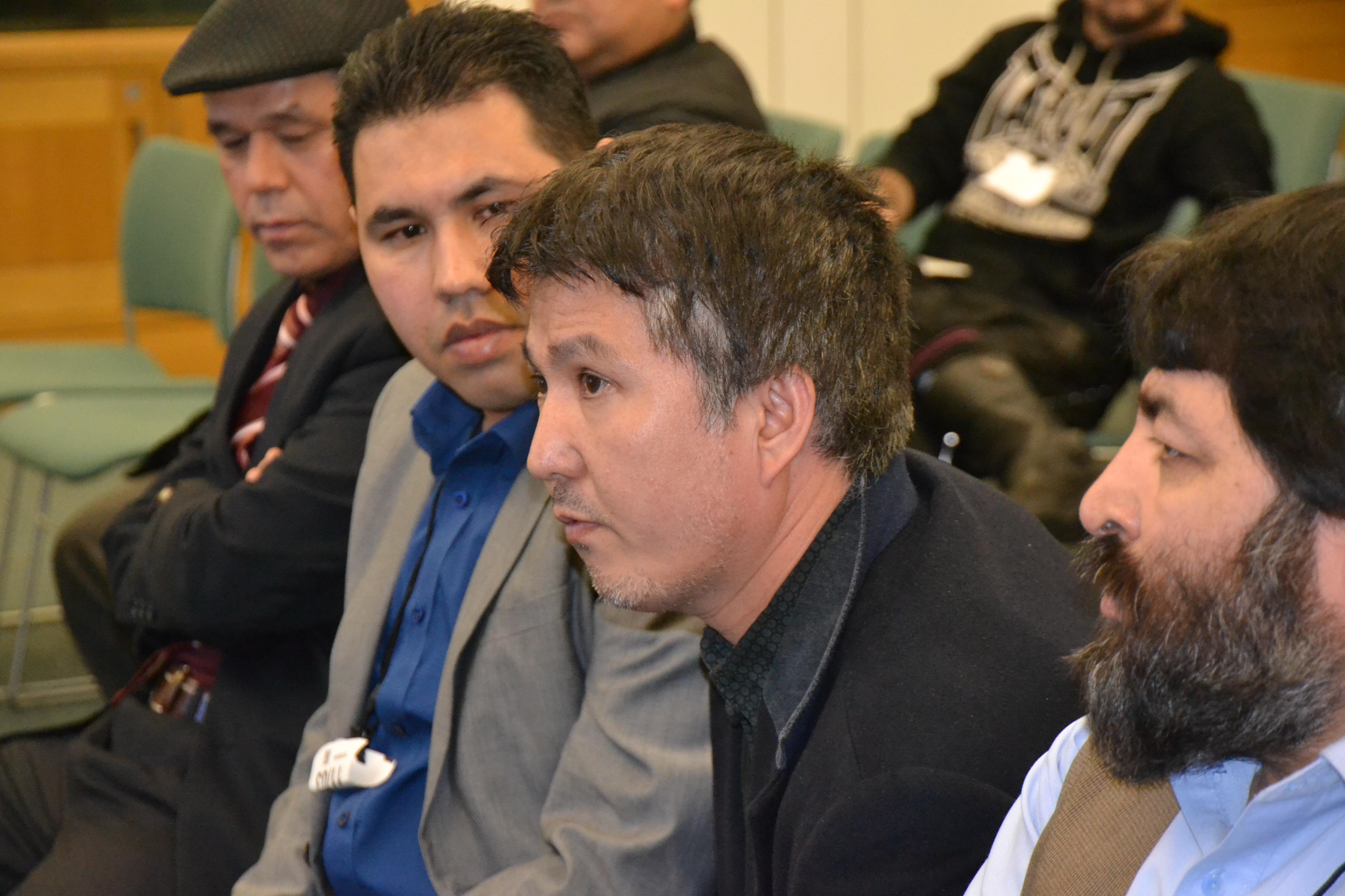 Attendees listening attentively