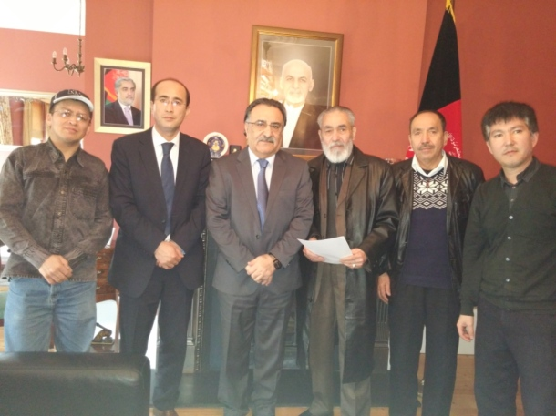 Meeting with the Afghan Ambassador