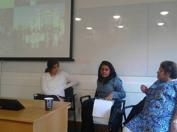 Dr Aisha Siddiqa and others (Recent Event)